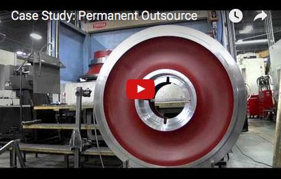 Video of machining