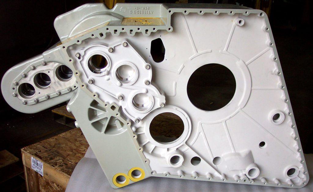 Aerospace & Defense parts   Magnesium Gear Box Housing